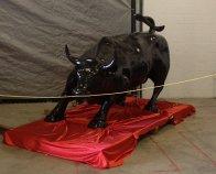 Charging Bull Bronze Sculpture Sculpture by Arturo Di Modica - 1