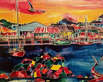 Monterey on the Rocks 1993 Limited Edition Print - Ron Mondz