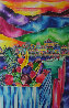 Marina Delivery 40x30 Original Painting by Ron Mondz - 0