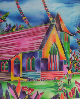 Ancient Beliefs 1993 40x30 Original Painting by Ron Mondz