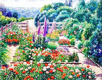 Believe in Dreams 31x37 Original Painting - Diane Monet
