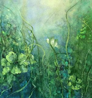 Way Out 2017 40x40 Original Painting - Victoria Montesinos