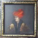 Red Hat 1999 47x37 Original Painting by Victoria Montesinos - 1