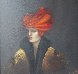 Red Hat 1999 47x37 Original Painting by Victoria Montesinos - 0