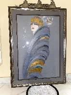 Deco Personality Embellished Super Huge Limited Edition Print by Victoria Montesinos - 1