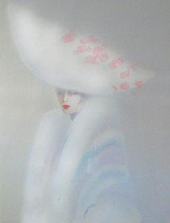 Elegance in White 1989 49x36 Super Huge Limited Edition Print - Victoria Montesinos