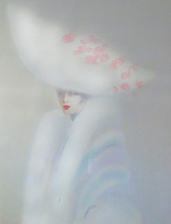 Elegance in White 1989 Super Huge Limited Edition Print - Victoria Montesinos