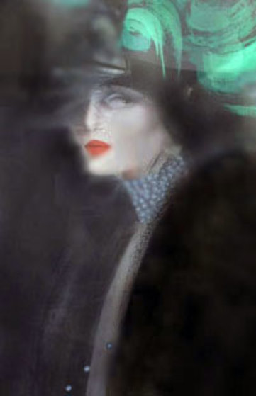 Woman with Green Hat 1984 Limited Edition Print by Victoria Montesinos