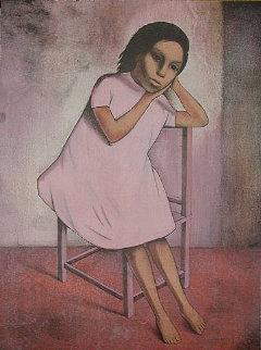 Nina De Rosa  1985 29x22 Limited Edition Print by Gustavo Montoya