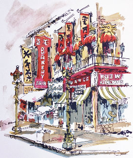 Chinatown Limited Edition Print by Wayland Moore