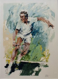 Jimmy Connors Limited Edition Print by Wayland Moore