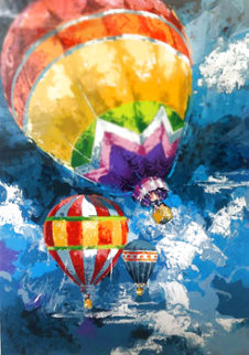 Hot Air Balloons 40x30 Super Huge Limited Edition Print - Wayland Moore