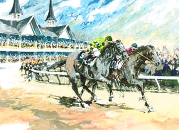 Churchill Downs 1979 Limited Edition Print - Wayland Moore