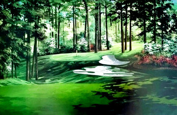 Augusta National Golf Club 10th Hole AP Limited Edition Print - Wayland Moore