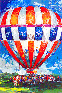 Lift Off Limited Edition Print - Wayland Moore