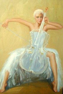 Apassionata 2012 37x53 Super Huge Original Painting - Gabriella  Moore