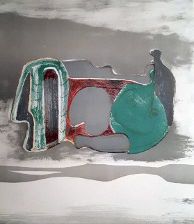 Reclining Figure 1973 Limited Edition Print - Henry Moore