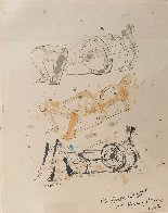 Three Reclining Figures 1962 12x10 Hand Signed Works on Paper (not prints) by Henry Moore - 1