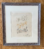 Three Reclining Figures 1962 12x10 Hand Signed Works on Paper (not prints) by Henry Moore - 2