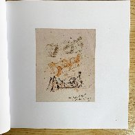 Three Reclining Figures Ink and Watercolor Drawing 1962 11x9 HS Works on Paper (not prints) by Henry Moore - 4