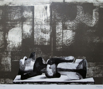 Untitled Lithograph Limited Edition Print - Henry Moore
