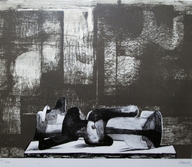 Untitled Lithograph Limited Edition Print by Henry Moore