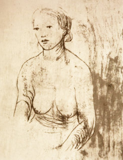 Girl II: From Nudes (Cramer 406) Limited Edition Print - Henry Moore