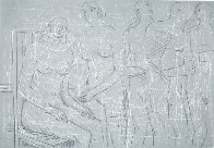 Group of Figures Limited Edition Print by Henry Moore - 0