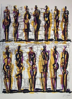 Heads Figures And Ideas 1958 Limited Edition Print by Henry Moore