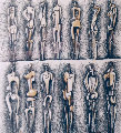 #3 Upright Motifs / Meditations on the Effigy 1966 Limited Edition Print - Henry Moore