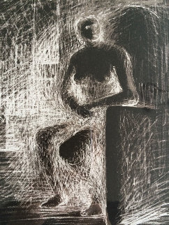 Reverse Lighting 1974 Limited Edition Print - Henry Moore