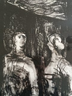 Friday Night in Camden Town 1995 Limited Edition Print by Henry Moore
