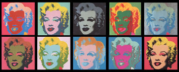 Sunday B. Morning, Marilyn Monroe Suite of 10 Limited Edition Print - Sunday B. Morning