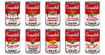 Campbell's Soup II Set of 10 2015 Limited Edition Print - Sunday B. Morning