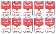 Campbells Soup Cans 1, Suite of 10 Screenprints Limited Edition Print by Sunday B. Morning - 0