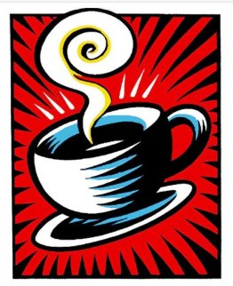 Coffee Cup Red  1998  Limited Edition Print - Burton Morris
