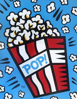 Pop 2004 48x36 Original Painting - Burton Morris