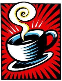 Coffee Cup State II 2000 Limited Edition Print - Burton Morris