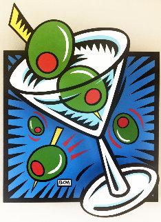 Martini State III (Blue) 2000 Limited Edition Print - Burton Morris