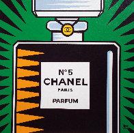 Chanel No. 5 2010 30x30 Original Painting by Burton Morris - 0