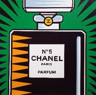 Chanel No. 5 2010 30x30 Original Painting by Burton Morris