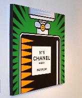 Chanel No. 5 2010 30x30 Original Painting by Burton Morris - 1