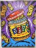 Jif 2008 40x30 Original Painting by Burton Morris - 1