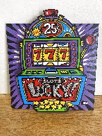 Lucky Slots Tryptych Limited Edition Print by Burton Morris - 0