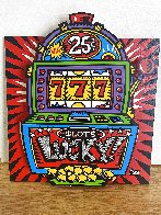 Lucky Slots Tryptych Limited Edition Print by Burton Morris - 1