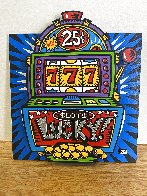 Lucky Slots Tryptych Limited Edition Print by Burton Morris - 2