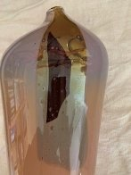 #66 Styhetta Glass Vase 1979 (early work) Unique Sculpture by William Morris - 2