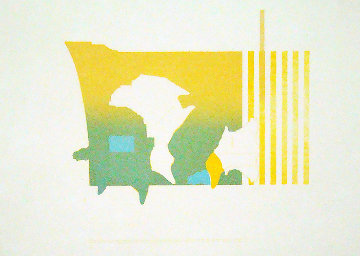 Untitled PP 1969 Limited Edition Print - Ed Moses