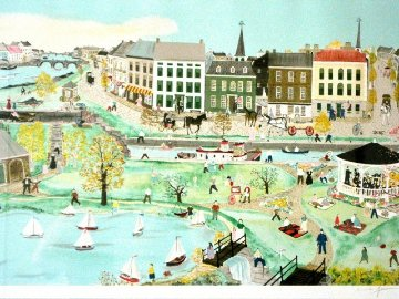 Canal Park 1987 Limited Edition Print by Will Moses