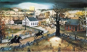 Sleepy Hollow 1991 Limited Edition Print by Will Moses